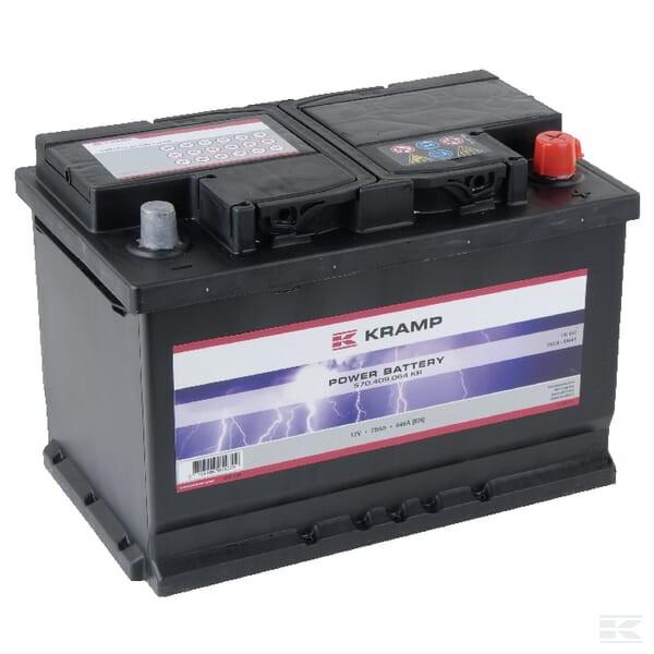 Batterie 12V 70AH 640A