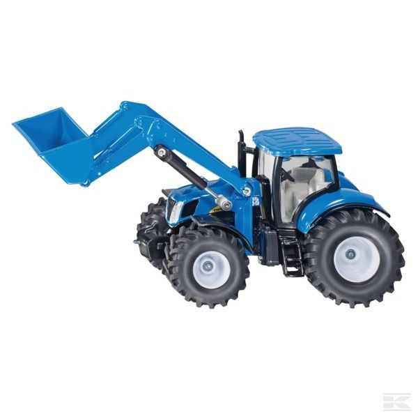 Siku New Holland mit Frontlader 1:50