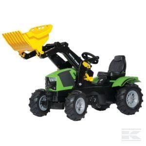 Rolly Toys Deutz-Fahr mit Frontl.+Luftbereifung