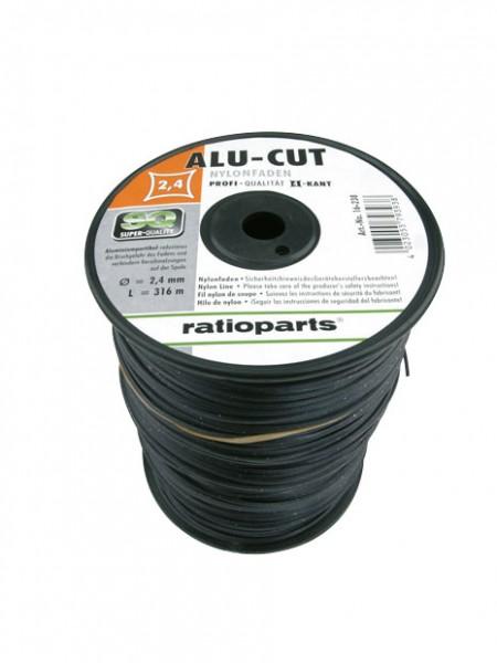 Nylonfaden AluCut 316m 4-kt 2.4