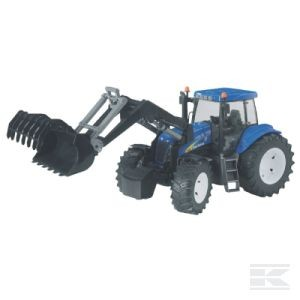 Bruder New Holland T8040 mit Frontlader